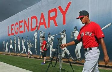 He may not be ready to hang on the wall with the Red Sox legends yet, but big things are expected for rookie shortstop Xander Bogaerts this season, and for many seasons to come.